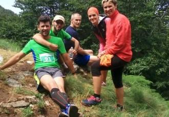 Odlični gospićki maratonci na Visočici