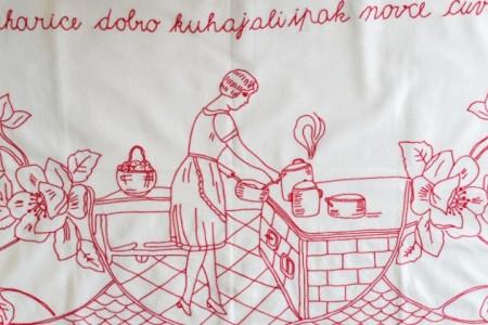 """""""Domaćica svaka blista, kad je kuća uvijek čista"""""""