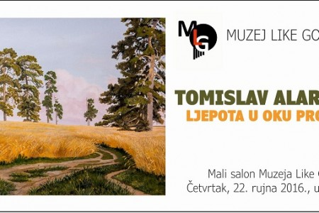 Večeras u Muzeju Like izložba Tomislava Alara