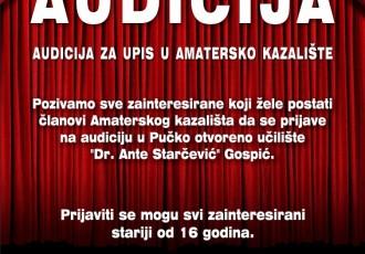 Postani glumac-amater