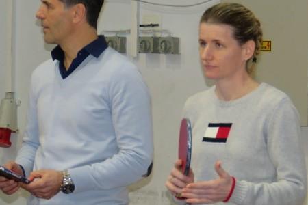 Tamara Boroš i Zoran Primorac podržali gospićki stolni tenis