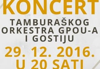 Tamburaški koncert u Otočcu