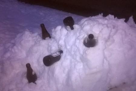 Zanimljiva snježna kreacija