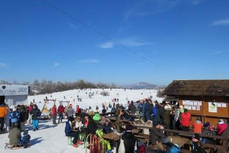 Snježni, sportsko-zabavni spektakl u Lovincu