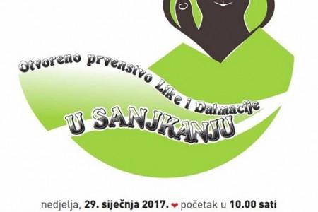 Na Cvituši u nedjelju otvoreno prvenstvo Like i Dalmacije u sanjkanju
