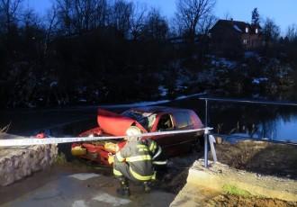 Policija potvrdila identitet nesretnika koji se u Novčici utopio u automobilu