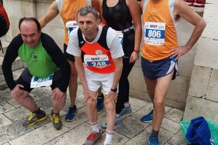 Članovi AK Velebit 2001. ostvarili odlične rezultate na Splitskom polumaratonu