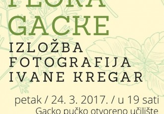 U petak u Otočcu otvorenje izložbe Flora Gacke