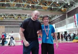 Mihael Alić srebrni na državnom prvenstvu hrvača do 13 godina starosti
