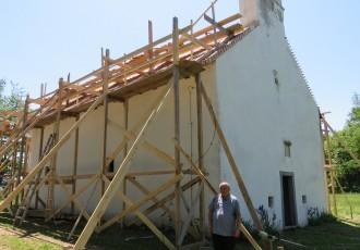 Obnavlja se crkva Duha svetoga u Mušaluku!