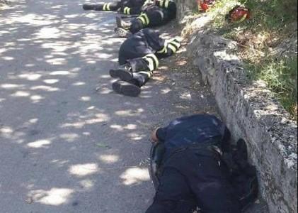 Lički vatrogasci i dalje u borbi  protiv kataklizme u Dalmaciji!!!