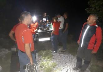 Zahvaljujući brzoj intervenciji gospićkog GSS-a pronađen planinar na Velebitu