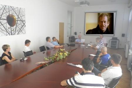U Gospiću održana književna tribina o Vaclavu Havelu