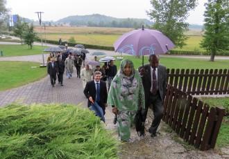 Memorijalni centar Nikole Tesle obišli strani diplomati