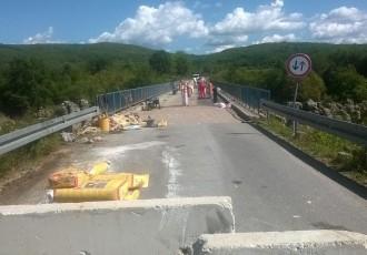Zatvoren je promet preko Kaluđerovačkog mosta!!!