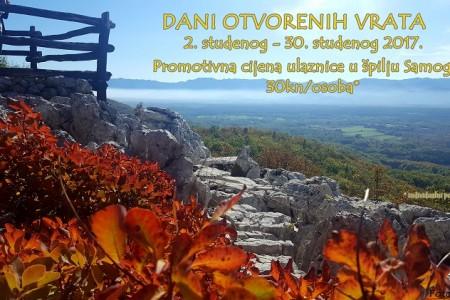 Tijekom studenoga ulaz u Grabovaču samo 30 kuna!!!