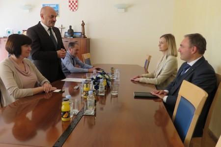 Slovenska veleposlanica Smiljana Knez posjetila Gospić