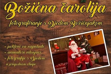 U četvrtak i petak u Gospiću Božićna čarolija, fotografiranje s Djedom Božićnjakom