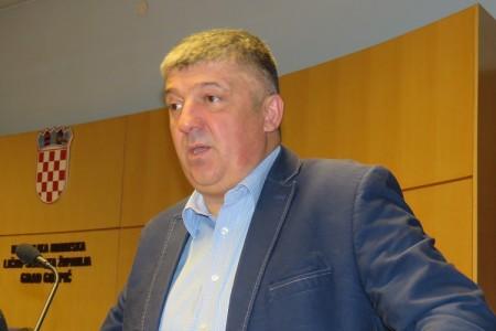 Prekid sjednice Vijeća grada Gospića
