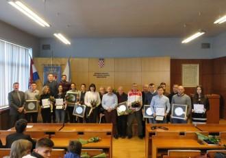 VIDEO:nagrade za najbolja sportska dostignuća grada Gospića