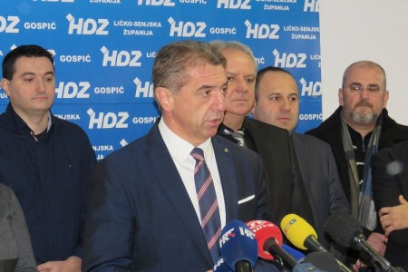 VIDEO:Milinović podnio ostavku na mjesto predsjednika HDZ-a Ličko-senjske županije!!!