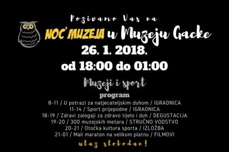 Superbogata Noć Muzeja u Otočcu će u petak započeti već u 8 sati ujutro!!!
