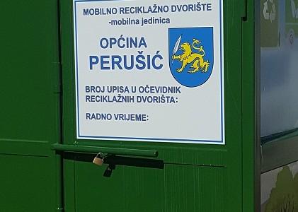 Od sada Perušićanima na upotrebi reciklažno dvorište vrijedno skoro 100,000 kuna