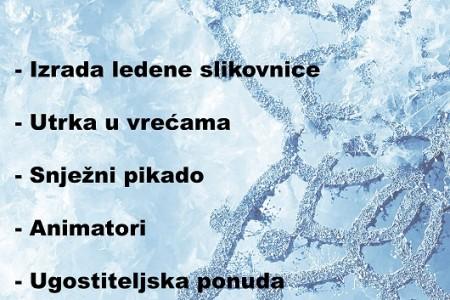 U subotu 24.veljače svi na Ledenu slikovnicu na glavnom gospićkom gradskom trgu!!!