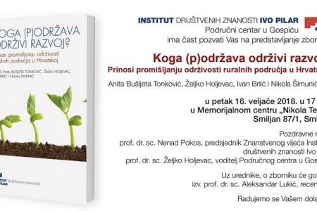 Još jedno vrijedno djelo Područnog centra Gospić Instituta Ivo Pilar