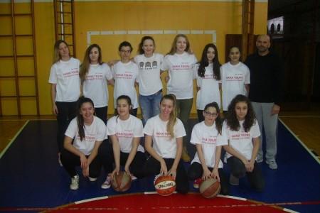 BRAVO: Mlade gospićke košarkašice plasirale se na završnicu državnog prvenstva!!!