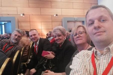 Lički SDP-ovci na stranačkoj konvenciji u Zagrebu!!!