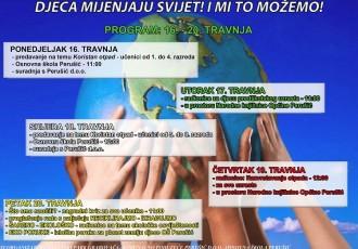 """Ovaj tjedan u Perušiću događanje """"Djeca mijenjaju svijet! I mi to možemo!"""""""