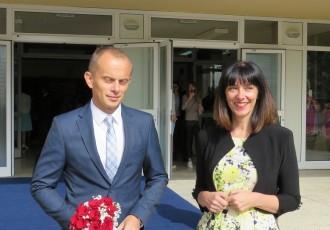 Ivica Radošević, ravnatelj gospićke osnovne škole, danas u Ministarstvu obrazovanja istakao da su učitelji i nastavnici ključ uspjeha kurikularne reforme