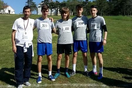 BRAVO:Gospićki dječaci drugi u Hrvatskoj  u krosu!!!