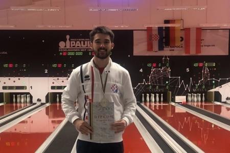 Luka Požega, mladi kuglač Plitvica u nedjelju nastupa u finalu Svjetskog kupa do 23 godine