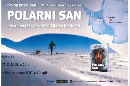 U četvrtak u Gospić dolazi Davor Rostuhar,  prvi Hrvat koji je pješačio do Južnog pola!!!