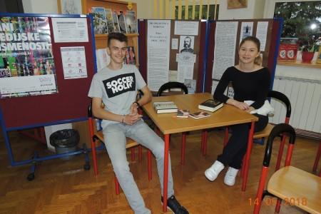 Gimnazijalci Barbara Bašić i Vid Šarić u završnici natjecanja Čitanjem do zvijezda postigli odlične rezultate u poznavanju povijesnog romana!!!