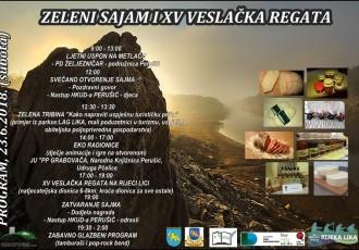 Danas na rijeci Lici Zeleni sajam i veslačka regata. Dođite!!!