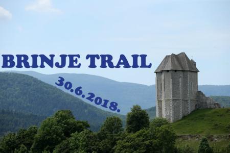 U subotu 30.lipnja uživajte u jedinstvenoj utrci Brinje trail!!!