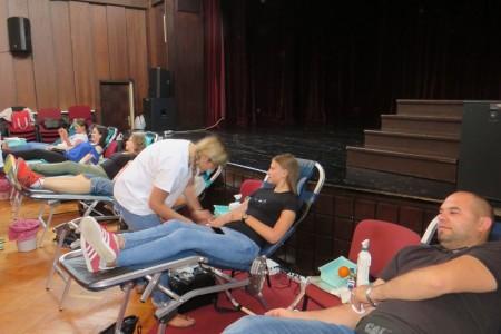 Humanost na djelu: sve više građana odaziva se na akcije dobrovoljnog darivanja krvi