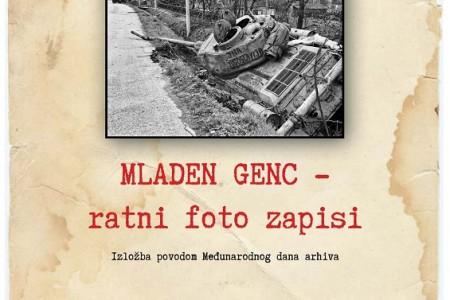 U četvrtak u Gospiću otvorenje izložbe ratnih fotografija novinara/dragovoljca Mladena Genca