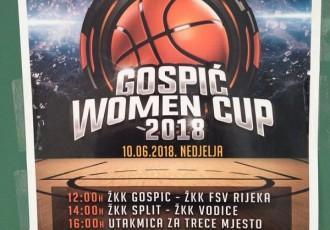 U nedjelju u Gospiću  turnir u ženskoj košarci!!!