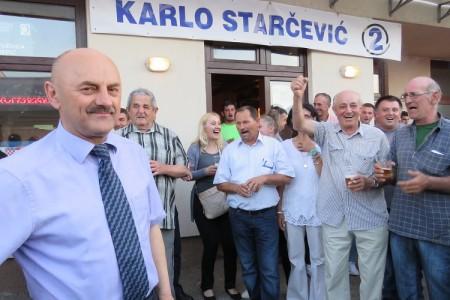 Na današnji dan prošle godine Karlo Starčević pobijedio Petra Krmpotića i HDZ!!!