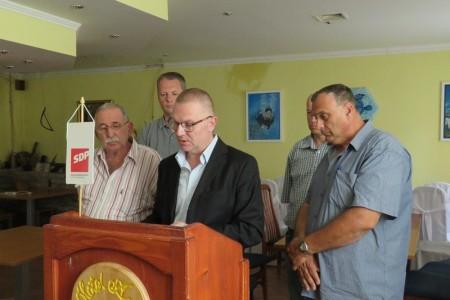 Tomislav Zrinski najavio jačanje SDP-a u županiji i rad na rješavanju problema građana