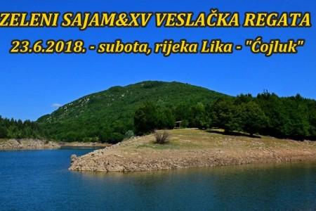 U subotu svi na rijeku Liku, na Zeleni sajam i Veslačku regatu!!!