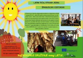 Želite naučiti španjolski ili estonski  jezik? Javite se u Perušić u PP Grabovača!!!