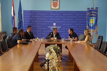 Sastanak čelništva županije s ravnateljem DUZS-a Lozančićem