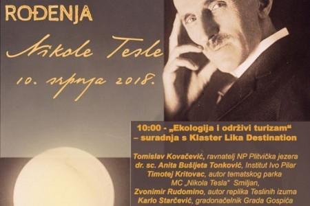 U utorak 10.srpnja slavlje 162.obljetnice rođenja Nikole Tesle!!!