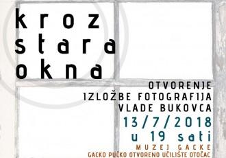 KROZ STARA OKNA: Izložba fotografija Vlade Bukovca