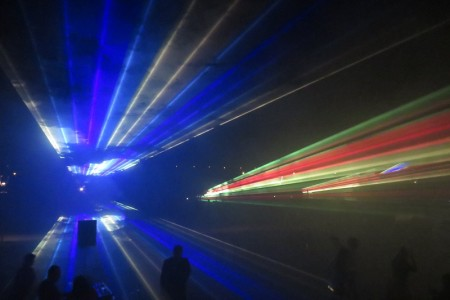 Spektakularan laserski show za kraj slavlja rođendana Nikole Tesle!!!